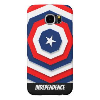 America Flag Design Samsung Galaxy S6 Cases