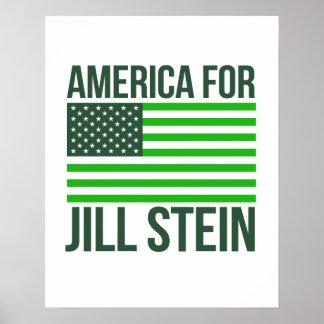 America for Jill Stein - - Jill Stein 2016 - Poster