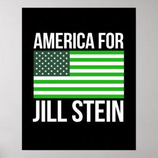 America for Jill Stein -- - Jill Stein 2016 - Poster