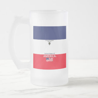 America Frosted Mug