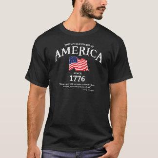 America George Washington quote t-shirt (dark)