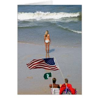 America Girl Lifeguards Card