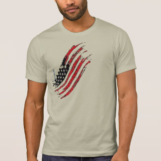 america great national US flag star stripes design T-Shirt