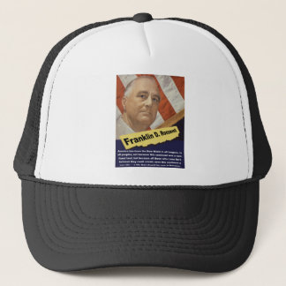 America Has Been The New World - FDR Trucker Hat
