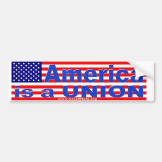 America is a UNION sticker