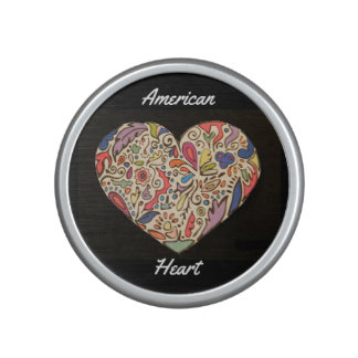 America Is Heart Bumpster Bluetooth Speaker