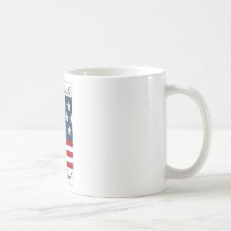 America_Is_My_Home Basic White Mug