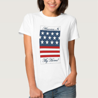 America_Is_My_Home Tshirt
