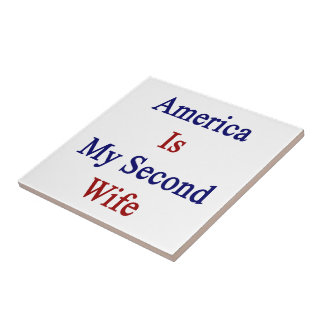 America Is My Second Wife Tiles