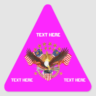 America Is Not Forgotten Triangle Only See Notes Triangle Sticker