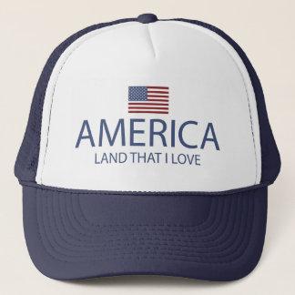 AMERICA LAND THAT I LOVE CAP