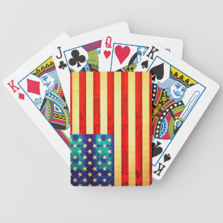 America money flag bicycle playing cards