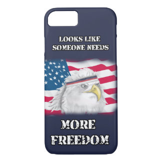 America, More Freedom Eagle iPhone 8/7 Case