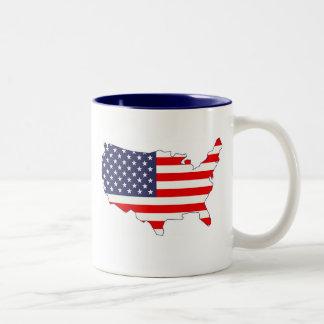 America Two-Tone Mug