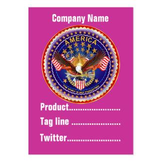 America Not Forgotten 1 Card Business Vert. Notes Business Card Template
