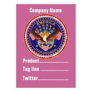America Not Forgotten 1 Card Business Vert. Notes Business Card Templates