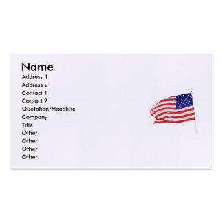 America Patriotic 862 Business Card Templates