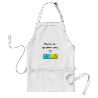 America periodic table name apron
