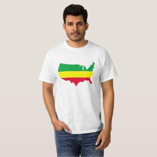 AMERICA REGGAE . T-Shirt