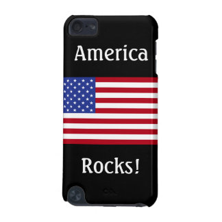 America Rocks!-American Flag iPod Touch 5G Cases