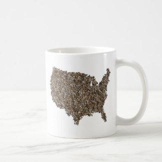 America Rocks! Basic White Mug