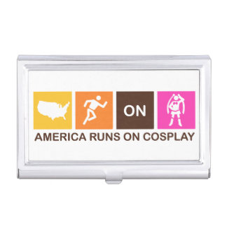 America runs on Cosplay Business Card Holder