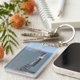 America s Cup Winner Rectangle Acrylic Keychain