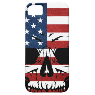 America Skull Flag Skeleton Evil iPhone 5 Covers