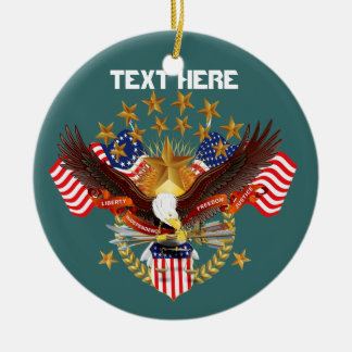America Spirit Charm  Please See Notes Christmas Tree Ornament