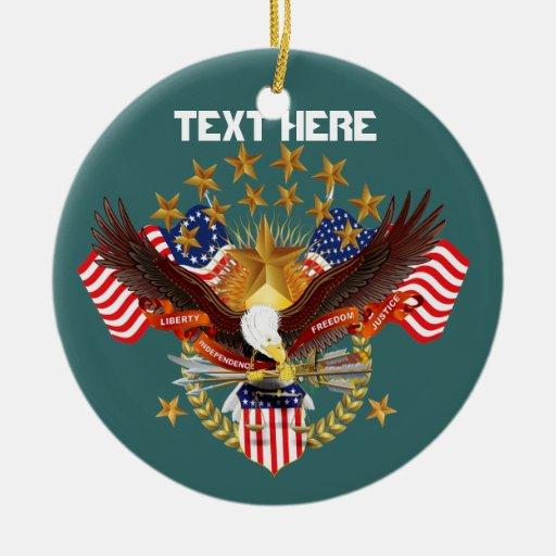 America Spirit Charm  Please See Notes Christmas Tree Ornament