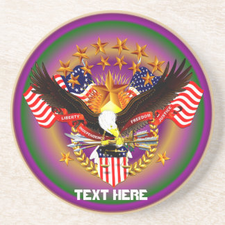 America Spirit Is Not Forgotten  Please See Notes Beverage Coasters