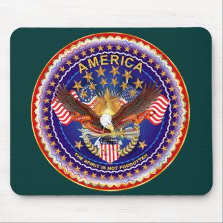 America Spirit Is Not Forgotten Please See Notes Mouse Pad