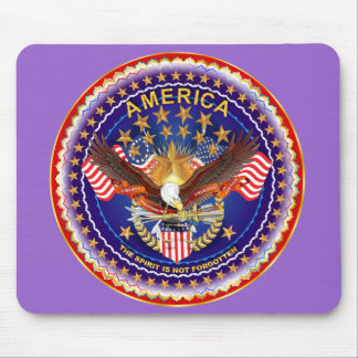 America Spirit Is Not Forgotten Please See Notes Mousepad