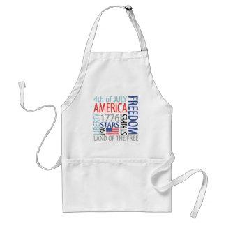 America Standard Apron