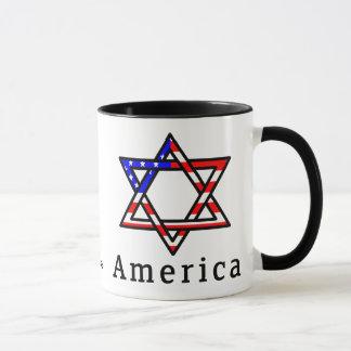 America Star of David Judaism MUG! Mug