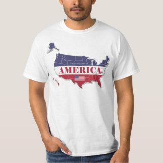 America States Classic Designer Attires; Him Hers T-Shirt