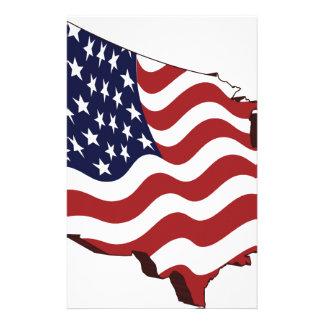 America! Personalized Stationery