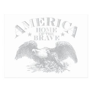 America the Beautiful 2 Postcard