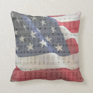 AMERICA THE BEAUTIFUL CUSHION