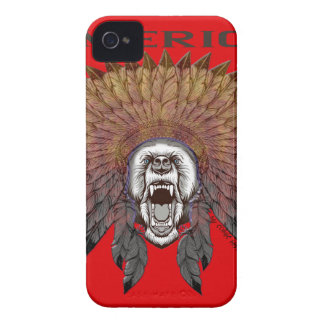 America to bear phase bears iPhone 4 Case-Mate case