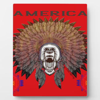 America to bear phase bears plaque