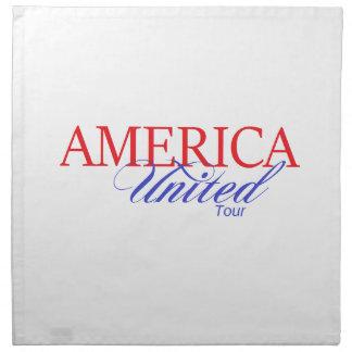 America United Gear Napkin