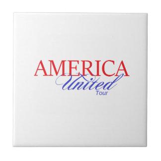 America United Gear Small Square Tile