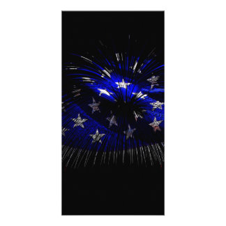 America US Flag Picture Card