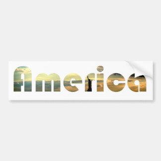 America USA Statue of Liberty Patriotic Sticker