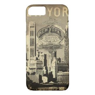 America USA travel vintage New York iPhone 8/7 Case