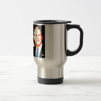 America Was Targeted For Attack - G W Bush Travel Mug