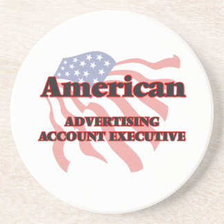 American Advertising Account Executive Drink Coaster