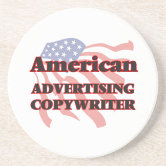 American Advertising Copywriter Beverage Coaster