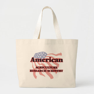 American Agriculture Research Scientist Jumbo Tote Bag